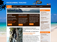 Felsklettern im Südthailand