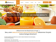 Beckmann bringt´s ihr Brötchen Lieferservice in Kassel und Umgebung