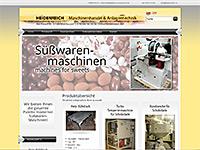 Süßwaren-Maschinenhandel
