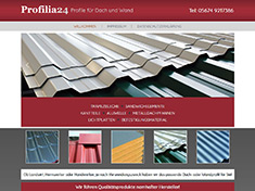 Profilia24 - Profile für Dach und Wand